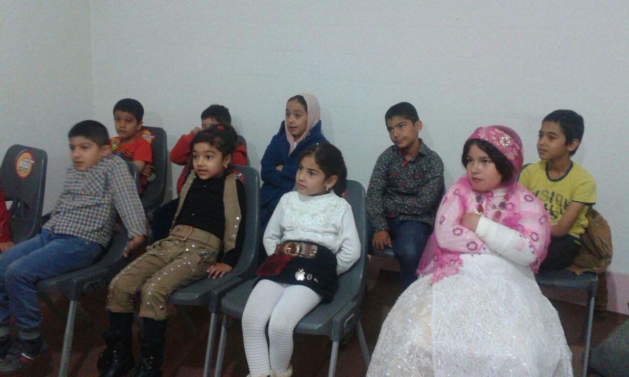 اولین جلسه تست صدا و استعدادیابی کودکان قشقایی برگزار شد