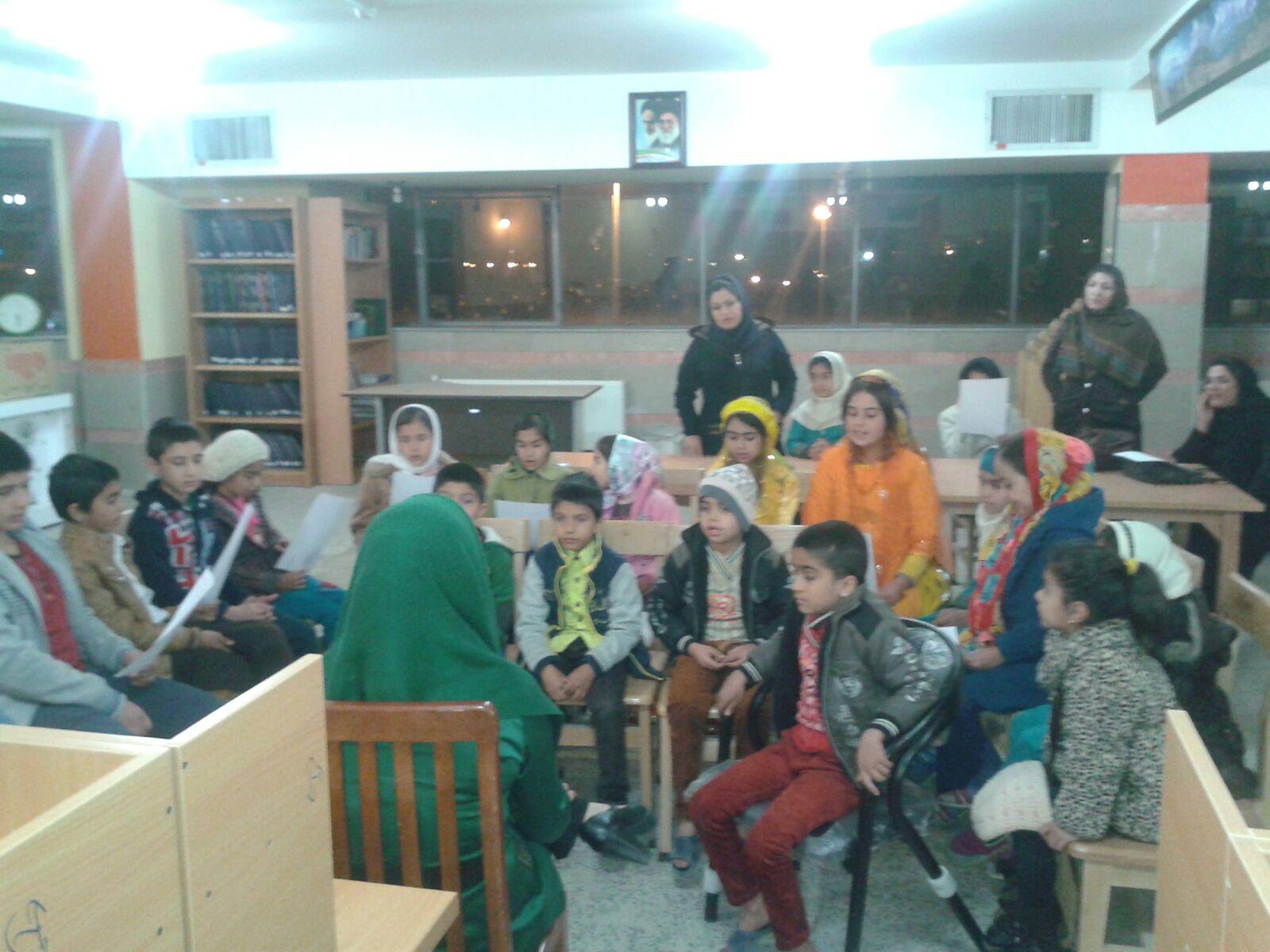 دومین جلسه گروه سرود کودکان قشقایی