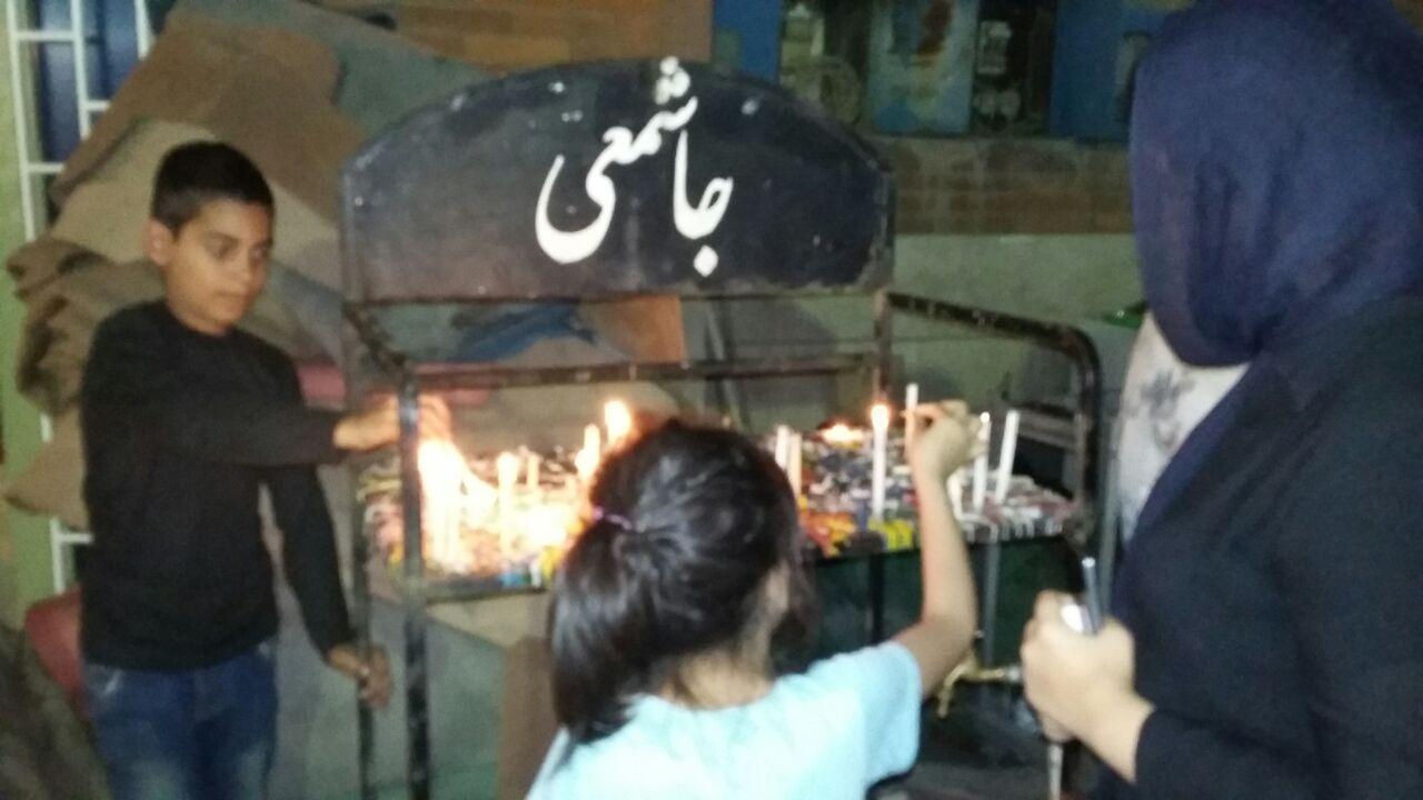 گزارش تصویری مراسم شام غریبان قشقایی های اهواز
