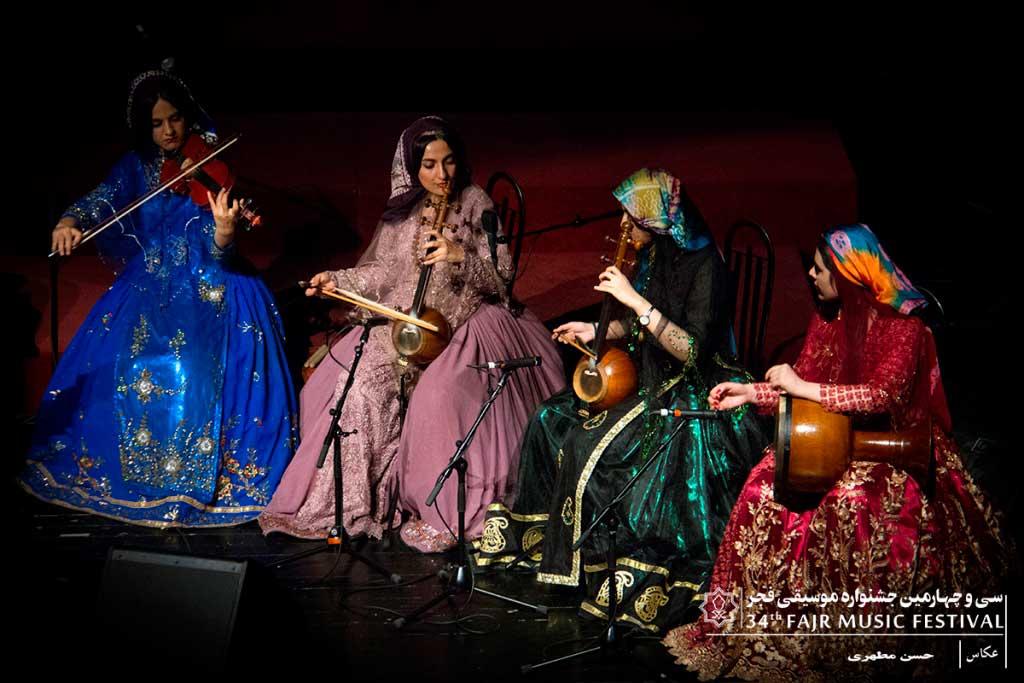 کنسرت موسیقی قشقایی « گروه یاغلیق »