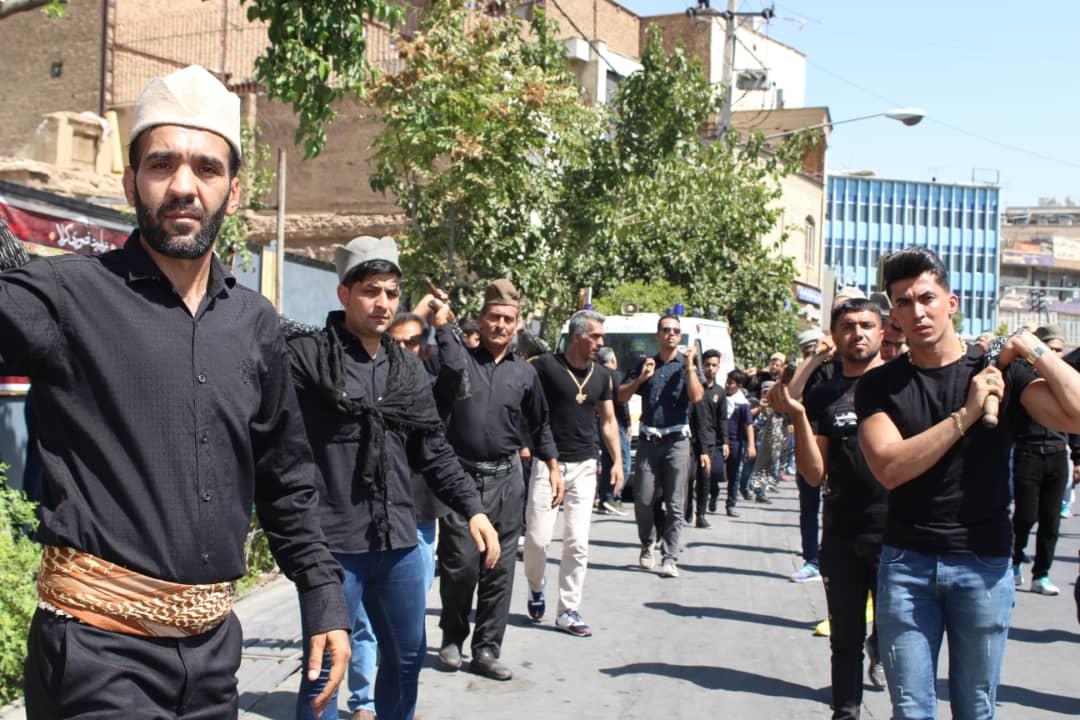 گزارش تصویری عرض ارادت قشقایی های شیراز در تاسوعای حسینی