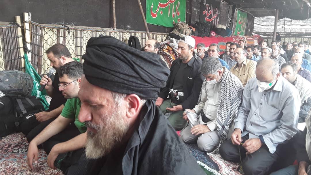 موکب قشقایی میزبان آیات عظام ملک حسینی و صفایی بوشهری