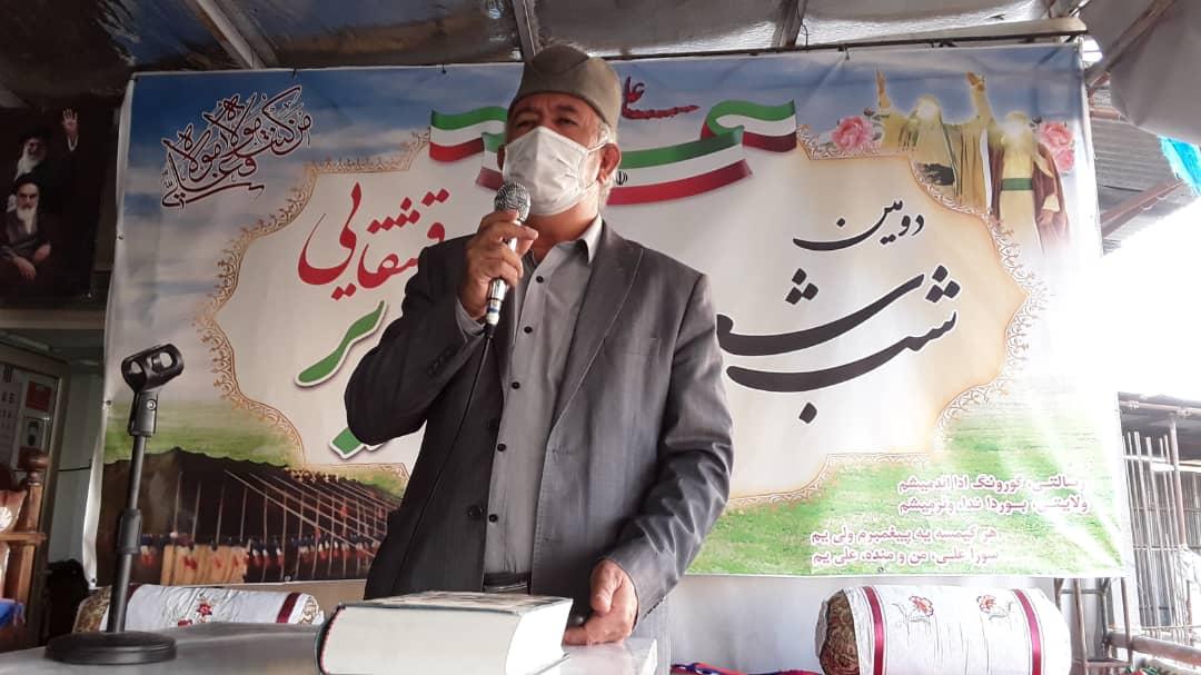 برگزاری دومین شب شعر غدیر قشقایی در مجتمع فرهنگی مذهبی حضرت ابوالفضل